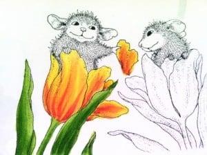 mice tulip